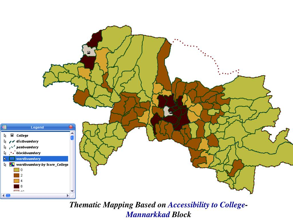 Thematic Mapping Based on