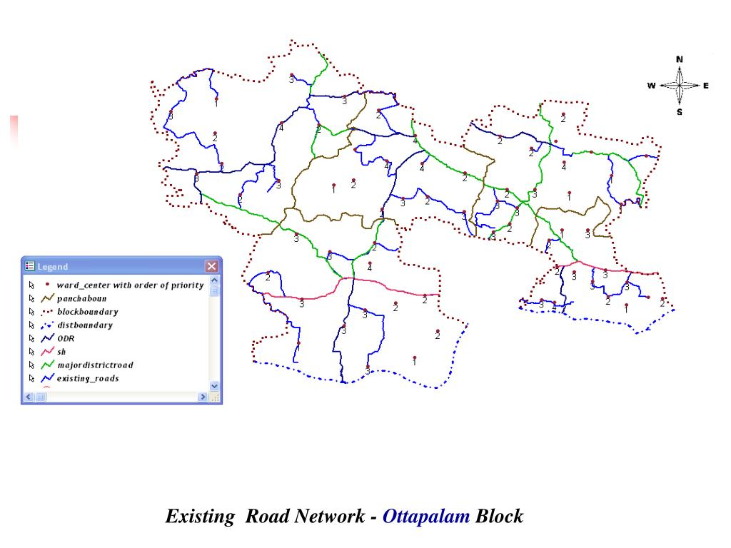 Existing  Road Network -