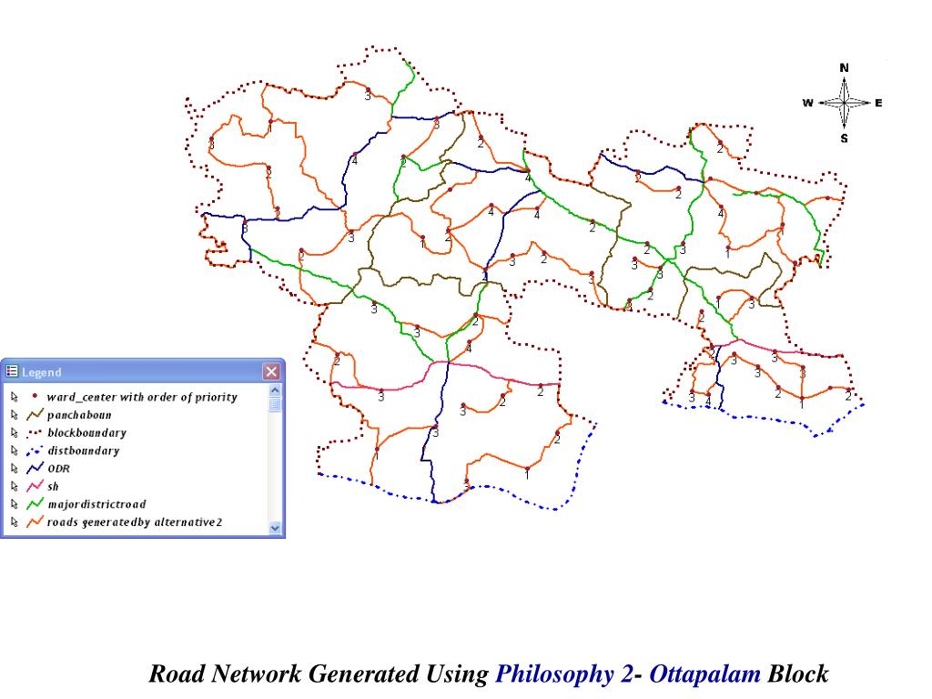 Road Network Generated Using