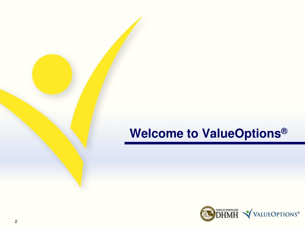 Welcome to ValueOptions