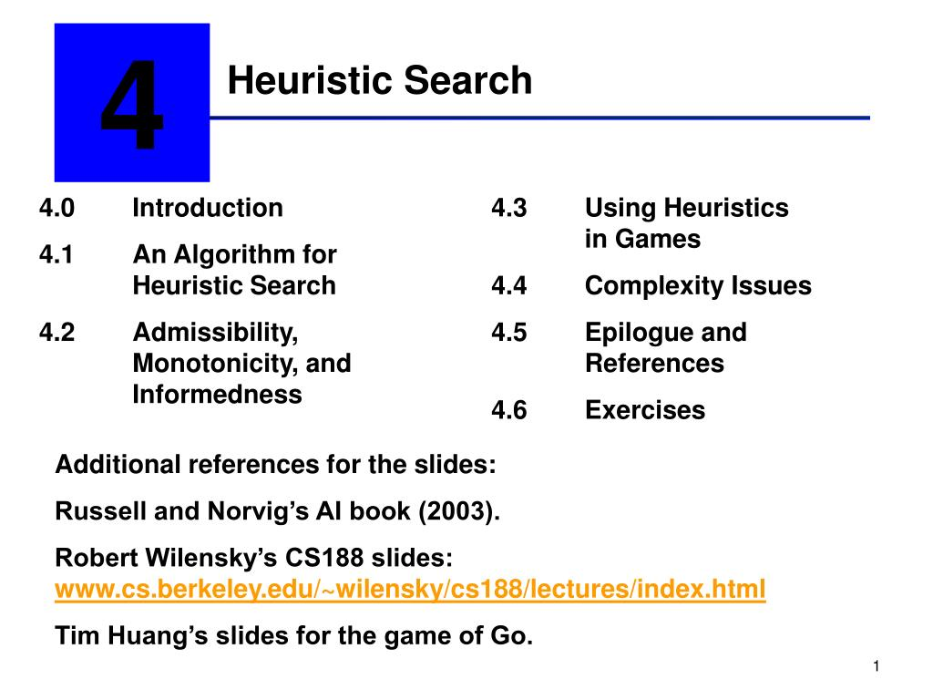 heuristic search l.