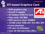 ati based graphics card