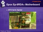 epox ep 8rda motherboard