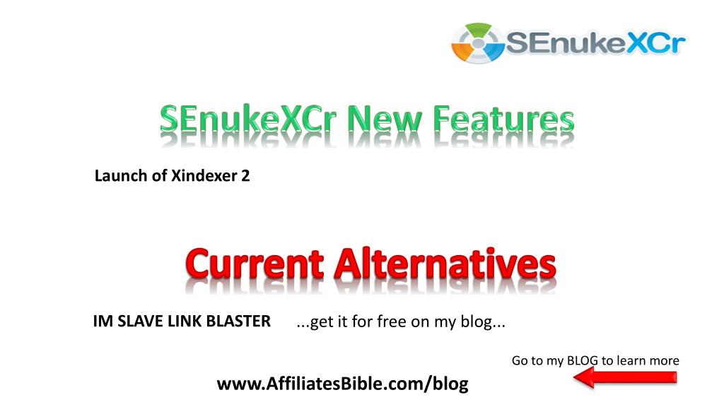 SEnukeXCr New Features
