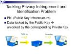 tackling privacy infringement and identification problem29