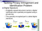 tackling privacy infringement and identification problem33