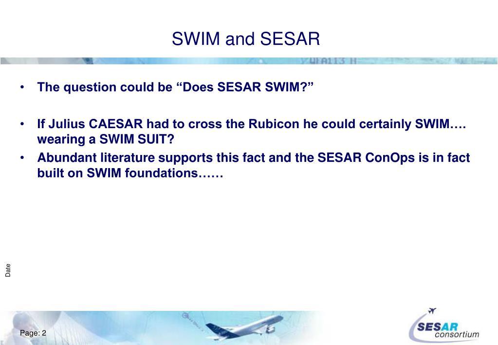 SWIM and SESAR