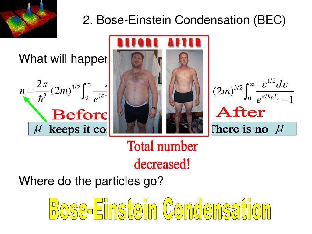 2. Bose-Einstein Condensation (BEC)