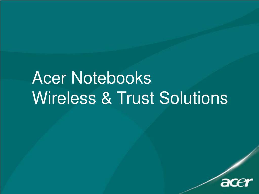 Acer Notebooks