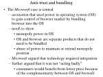 anti trust and bundling