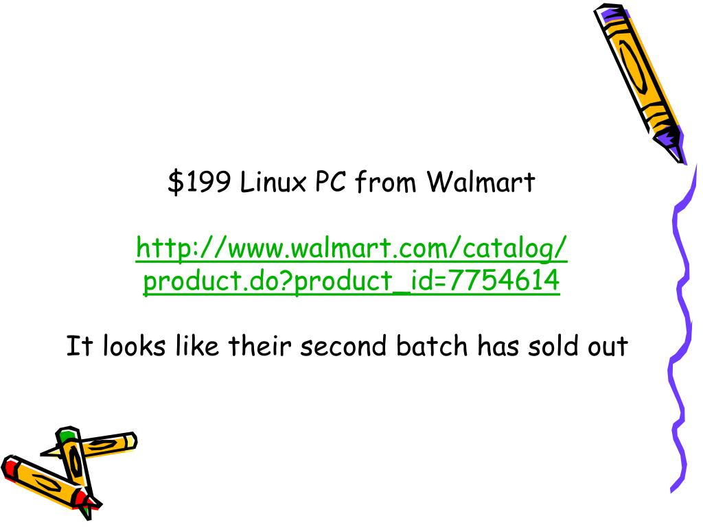 $199 Linux PC from Walmart
