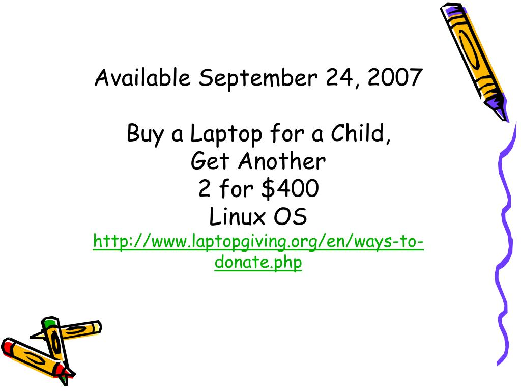 Available September 24, 2007