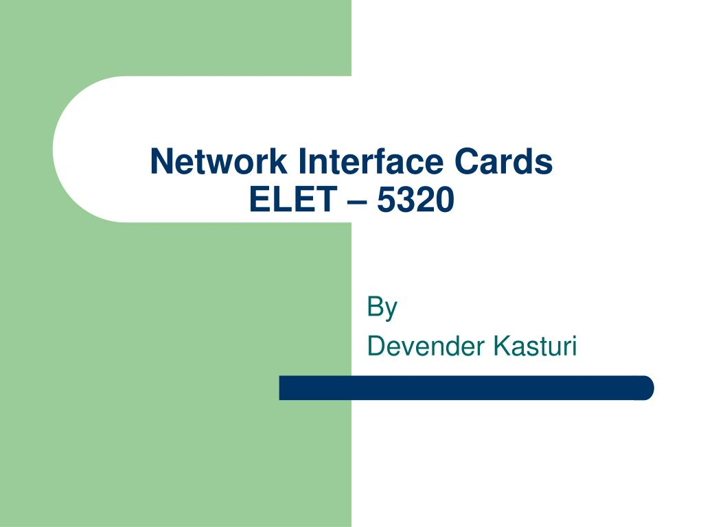 network interface cards elet 5320 l.