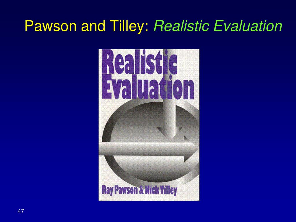 Pawson and Tilley: