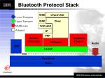 bluetooth protocol stack