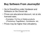 buy software from journeyed