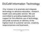 ducom information technology