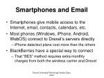 smartphones and email