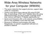 wide area wireless networks for your computer wwan