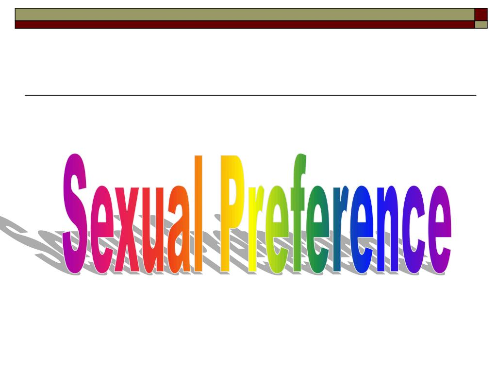 Sexual Preference