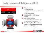 daily business intelligence dbi