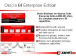 oracle bi enterprise edition