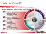 who is zanett