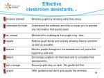 effective classroom assistants