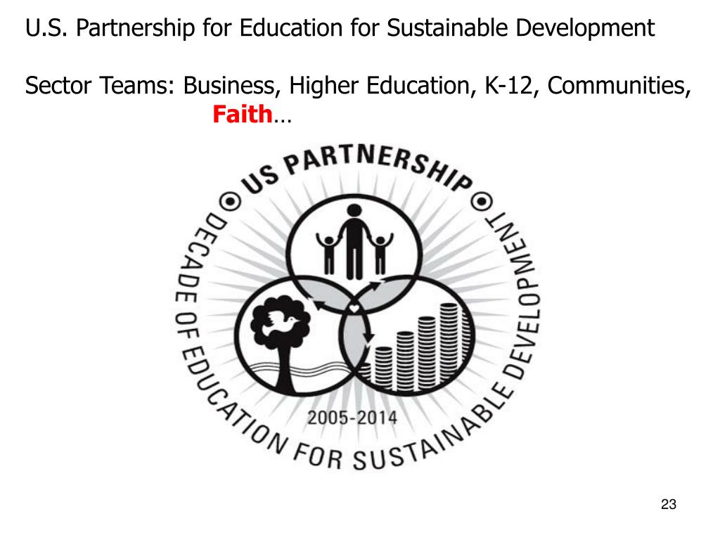 U.S. Partnership for Education for Sustainable Development