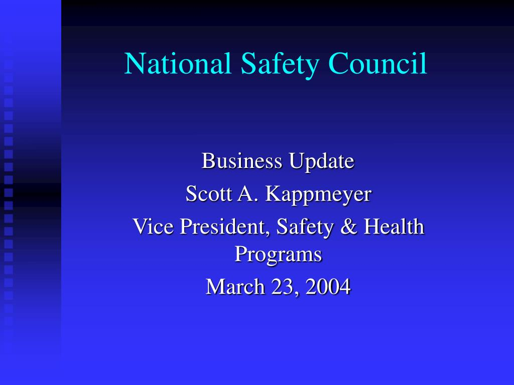 national safety council l.