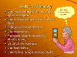 aids to memory