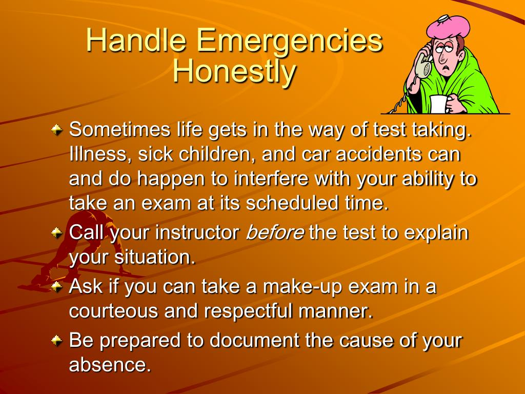 Handle Emergencies