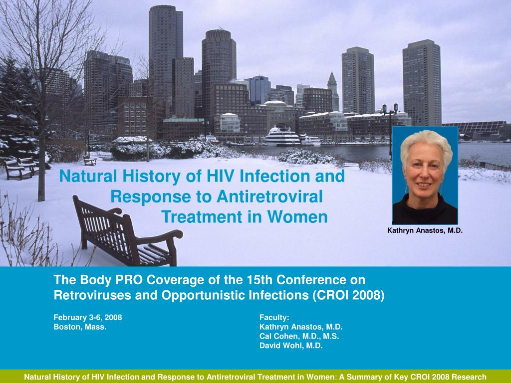 natural history of hiv infection and response to antiretroviral treatment in women l.