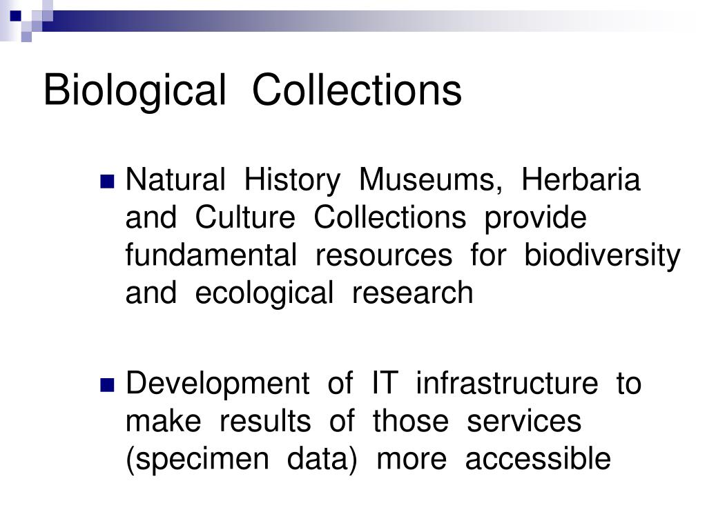 Biological  Collections