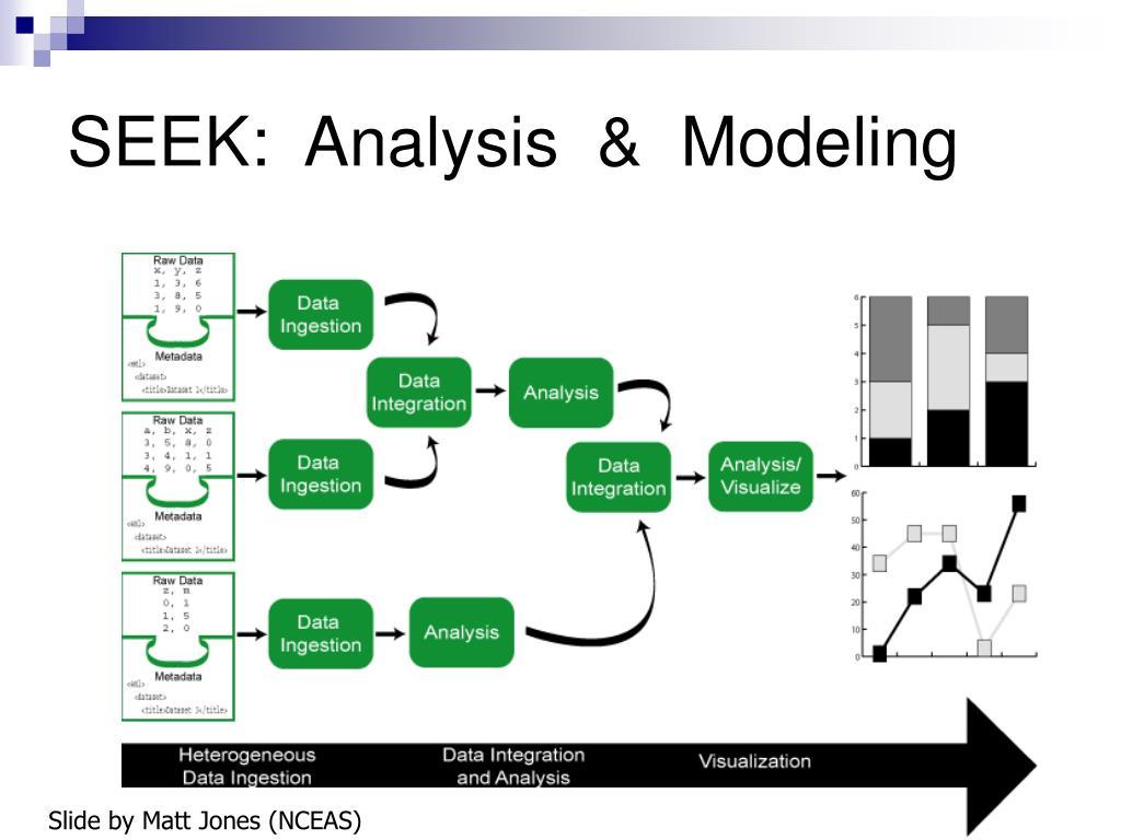 SEEK:  Analysis  &  Modeling