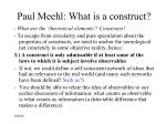 paul meehl what is a construct9