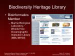 biodiversity heritage library21