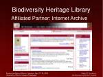 biodiversity heritage library23