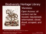 biodiversity heritage library26
