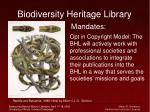 biodiversity heritage library27