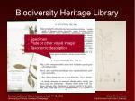 biodiversity heritage library43