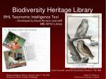 biodiversity heritage library45