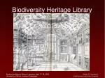 biodiversity heritage library52