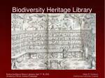 biodiversity heritage library53