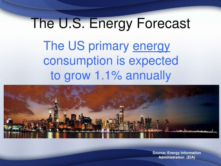 The u s energy forecast