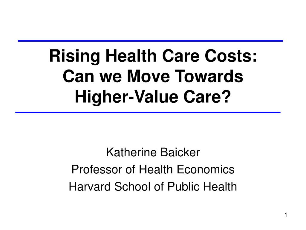the cost of health care presentation (mabel bianco) cost benefit and economic approach related to health care services system introduction the economic approach to analyze the health care services.