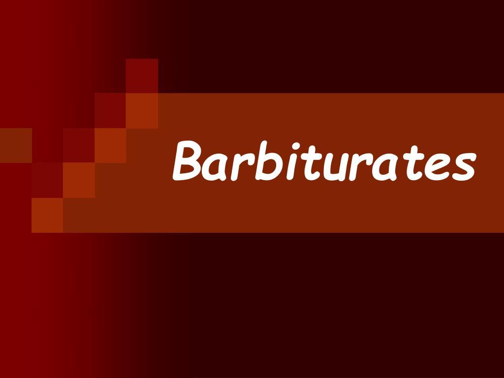 barbiturates l.