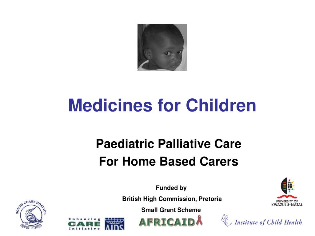 medicines for children l.