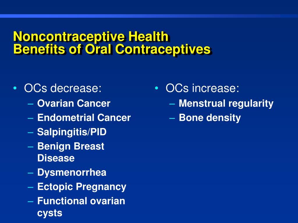OCs decrease:
