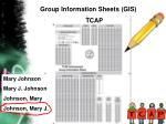 group information sheets gis